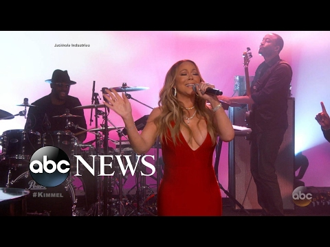 Mariah Carey returns to TV after New Year's Eve performance