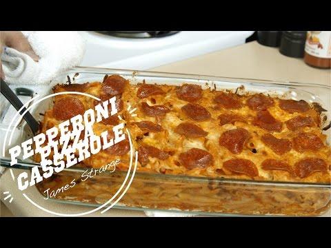 Pepperoni Pizza Casserole Recipe / English Subtiltiles