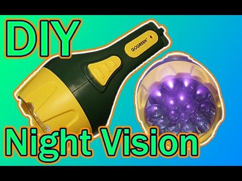 DIY - Night Vision Flashlight Instructional Video