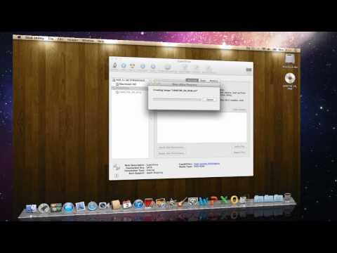 Create an ISO image on Mac OS X