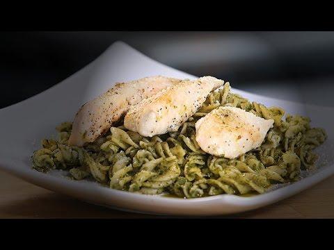 Easy Chicken Pesto Pasta Recipe | Ingrid Dishes