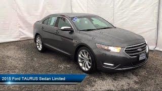 Download 2015 Ford TAURUS Sedan Limited Carthage Watertown Gouverneur Syracuse Utica Video