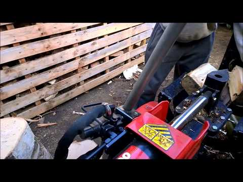 25 Ton MTD Log Splitter Review As Flimed With The New Nokia Lumia 1020