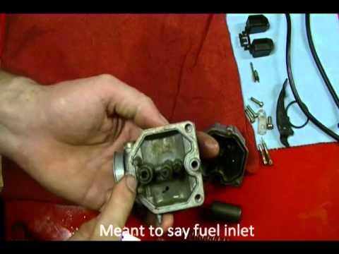 Motorcycle Repair: How to Clean a Motorcycle Carburetor