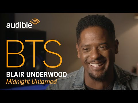Behind the Scenes with Blair Underwood, narrator of Midnight Untamed