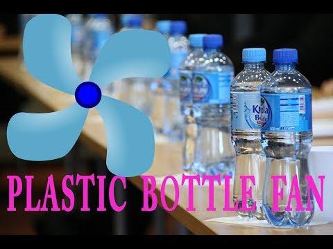 How to Make MINI FAN Using Water Bottles