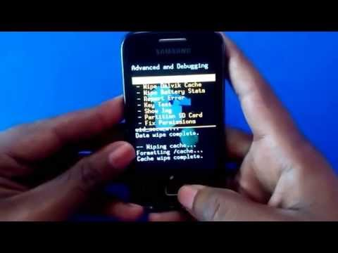 Install Android 4 4 KitKat On Samsung Galaxy Y Duos GT S6102