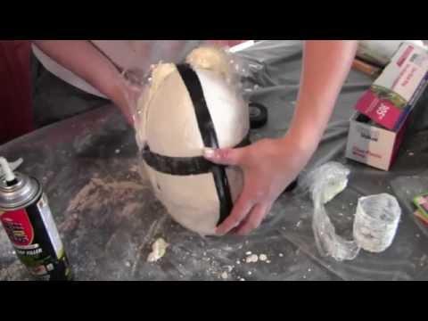Comment faire un masque en latex complet chez soi  PART1