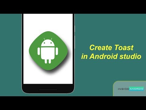 Create Toast in Android Studio  Android Tutorial