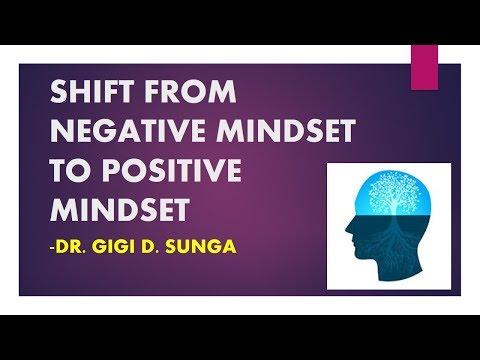 Leadership Seminar: Shift from negative mindset to positive mindset