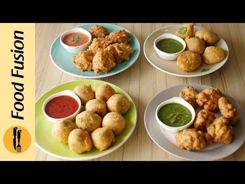 Pakoras with Leftover 4-Ways Recipe By Food Fusion (Ramzan Special Recipe)