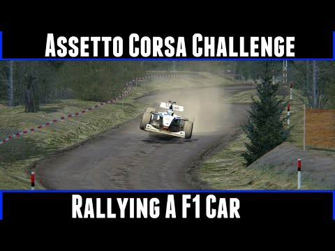 Assetto Corsa Challenge Rallying A F1 Car