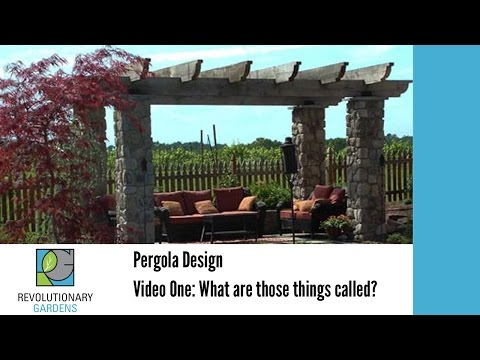 How to Design and Build a Pergola - The Basics