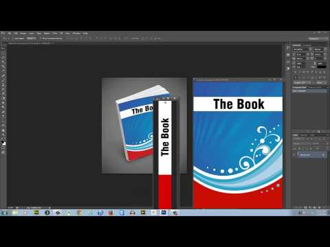 How to make 3d ebook cover in Photoshop