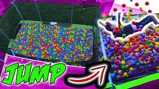 Trampoline Vs Ball Pit