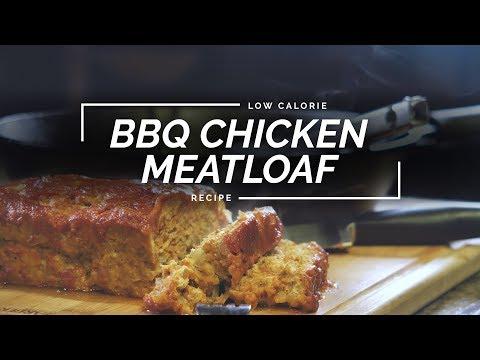 BBQ Glazed Chicken Meatloaf | Easy Meatloaf Recipe