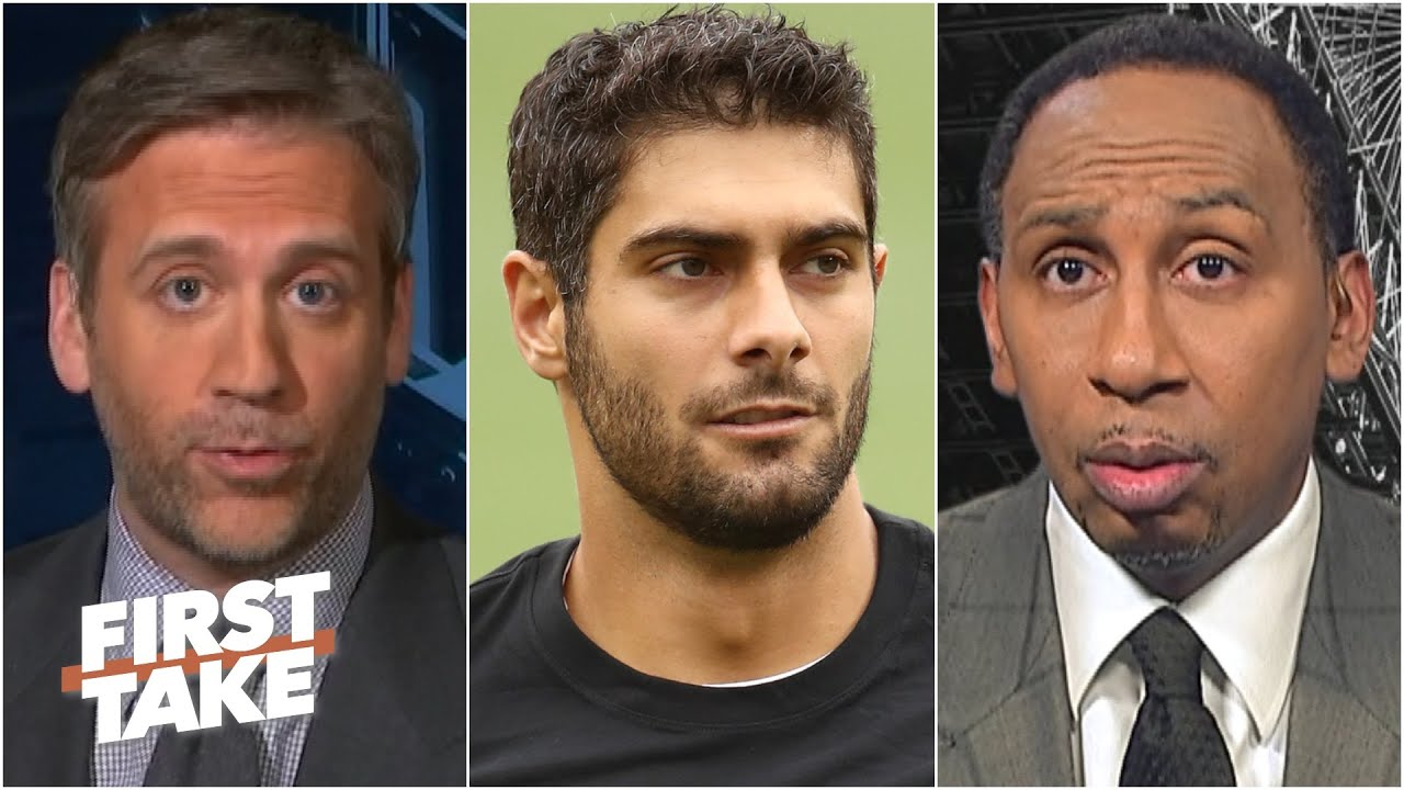 Should the 49ers stick with Jimmy Garoppolo? Stephen A. and Max debate | First Take