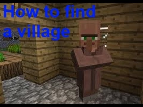 Minecraft 1.10 How to find a village quick + easy and get emeralds!