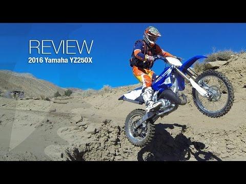 2016 Yamaha YZ250X Review - MotoUSA