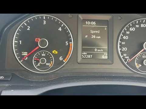 NEW Volkswagen scirocco service message reset