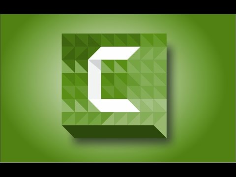 How to Create Camtasia Studio 8 Logo in Corel Draw Graphics Suite 2017 tutorial by, Amjad G D