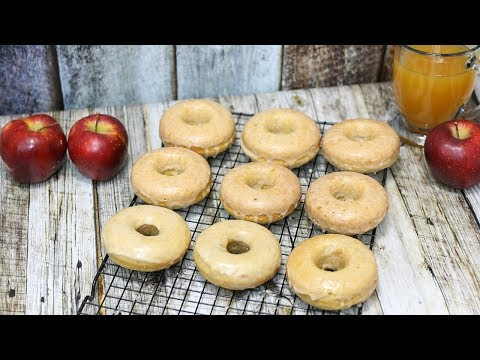 Apple Cider Donuts Recipe - Baked Apple Cider Donuts 🍩🍎