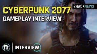 Cyberpunk 2077 Gameplay Interview E3 2019