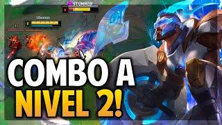 ¡EL COMBO LVL 2 DE PANTHEON ES FREE KILL! | League of Legends