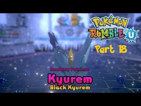 Pokemon Rumble U (English) - Part 18: Toy Shop - Sealed Door (White Kyurem & Black Kyurem)