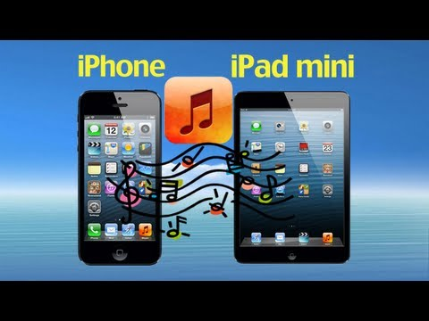 iPhone iPad Copy: How to Transfer Music from iPhone to iPad or iPad Mini without iTunes