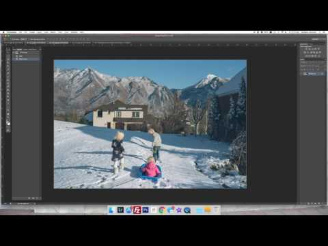 Tutorial: How I Make My Own Family Yearbook Photo Album Pages in Photoshop