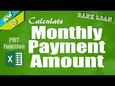 How to Calculate Monthly Loan Payment in Excel _ Use PMT Function in Excel_HD