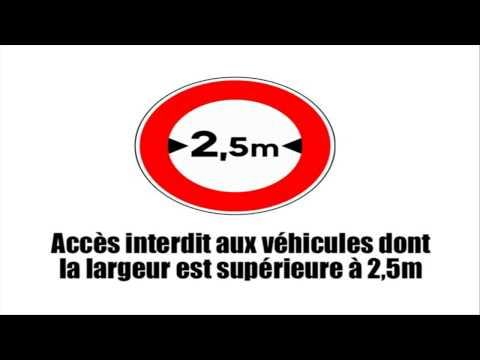 How to drive in France # Panneaux d'interdiction Vol1
