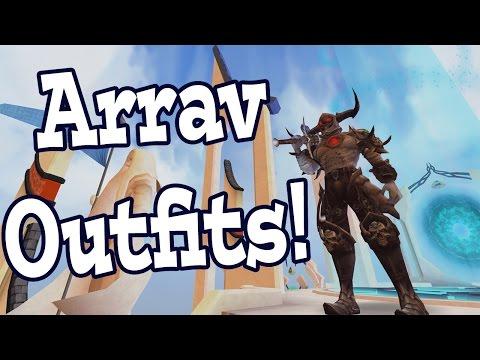 Runescape - Arrav Outfits!