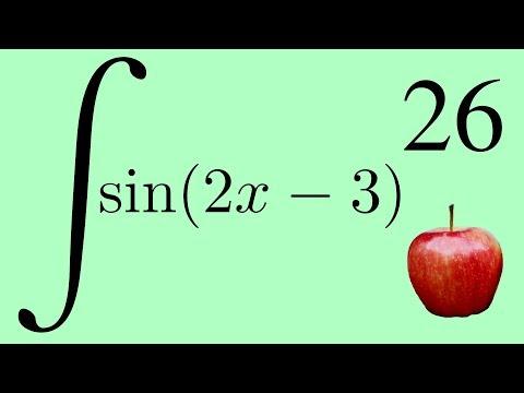 Integral of Sin(2x-3)