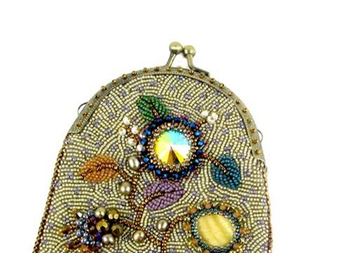 Make a small beaded purse with a purse frame Ann Benson