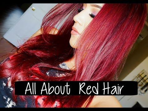 Red Hair : ALL About Red Hair, Dye, Keep it lasting longer..