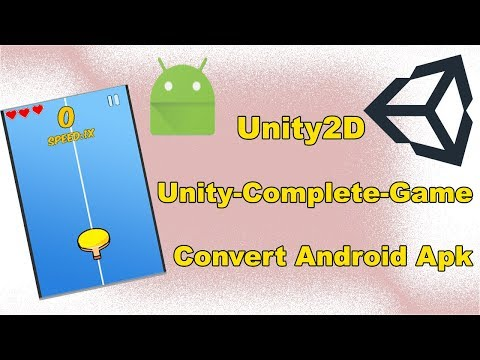 Unity Game Design Complete Tutorial ! Convert to android Apk