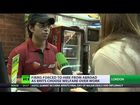 Hungry for Work: UK firms forced to hire from abroad