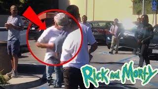 SZECHUAN SAUCE turns into a GANG FIGHT at McDonalds!! Rick and Morty