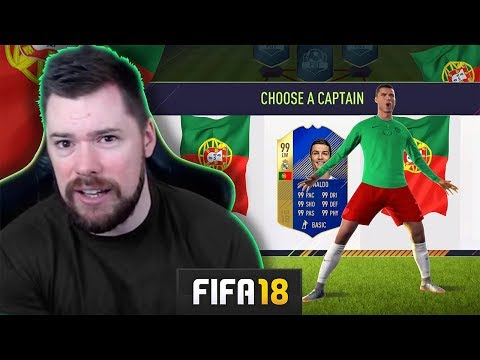 INSANE TEAM DRAFT! - FIFA 18 Ultimate Team