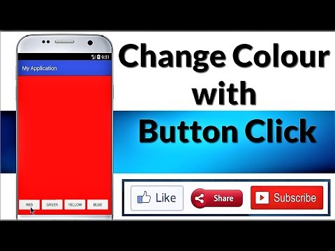 [ KOTLIN ] CHANGE COLOUR ON  BUTTON CLICK || Android Studio || Tutorial for beginners
