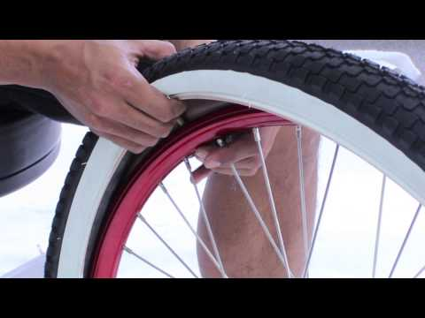 How to Change a Flat Front Bicycle Tire