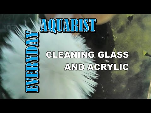 How To Clean Fish Tank Glass / Acrylic