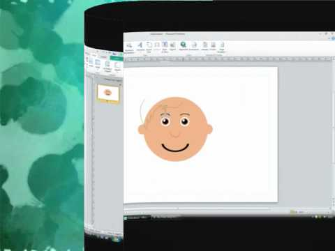 Creating Clip Art Faces using Autoshapes
