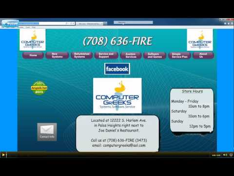 Set your Homepage in Internet Explorer 9