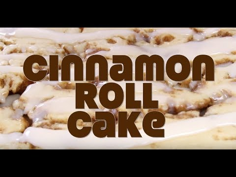 How to make: Cinnamon Roll Cake