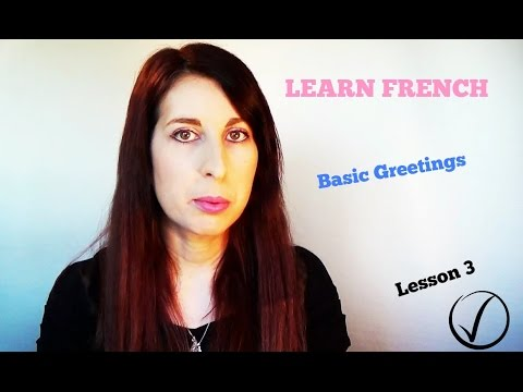 LEARN FRENCH | HOW TO SAY WHAT'S YOUR NAME ? | FRENCH LESSONS #3