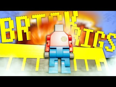 LEGO MAN CAUSES CATASTROPHIC EXPLOSIONS! - Workshop Creations - Brick Rigs Gameplay
