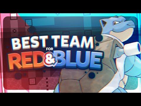 Best Team for Kanto (Red and Blue) Ft. MandJTVPokevids